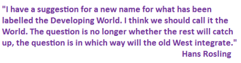 Hans Rosling quote